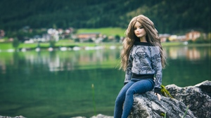 Preview wallpaper barbie, doll, fashion, girl, style